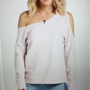 Sanctuary Alexi Asymmetrical Sweatshirt. Worn once